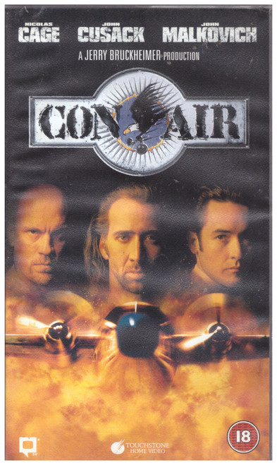 Con Air VHS from Touchstone Home Video (D610059)