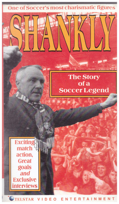 Shankly: The Story Of A Soccer Legend VHS from Telstar Video Entertainment (TVE 4008)