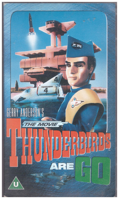 Thunderbirds Are Go The Movie VHS from MGM Home Entertainment (17208S)
