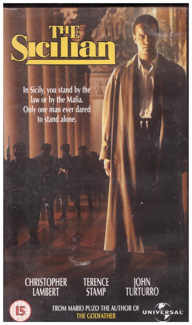 The Sicilian VHS from 4 Front Video (079 9033)