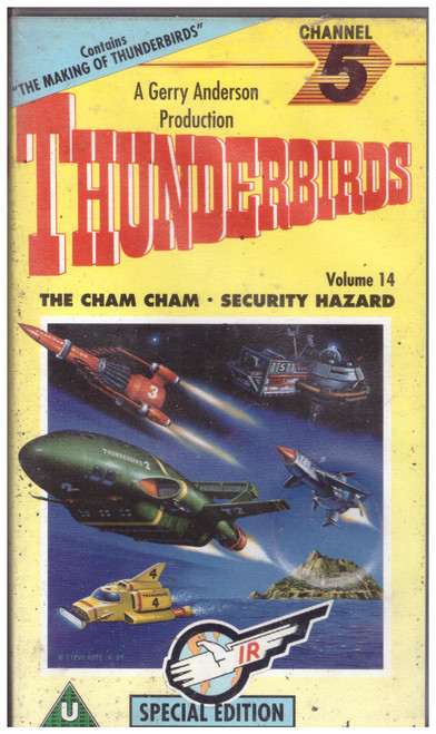 Thunderbirds Volume 14 VHS from Channel 5 (CFV 05442)