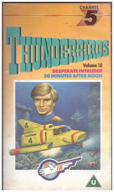 Thunderbirds Volume 10 VHS from Channel 5 (CFV 07212)