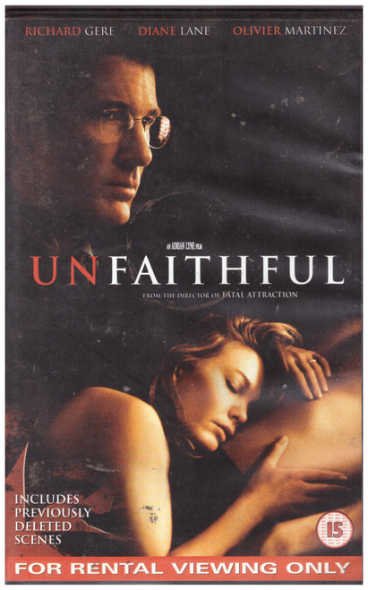 Unfaithful VHS from 20th Century Fox Home Entertainment (22970)
