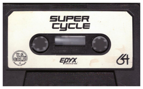 Super Cycle Tape Only for Commodore 64 from U.S. Gold