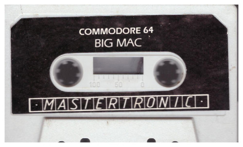 More Adventures Of Big Mac The Mad Maintenance Man Tape Only for Commodore 64 from Mastertronic
