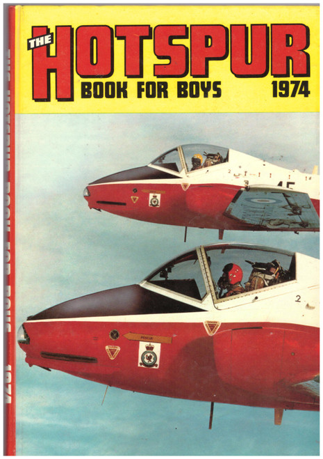 The Hotspur Book For Boys Annual 1974 from D.C. Thomson & Co Ltd