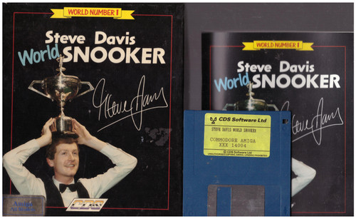 Steve Davis World Snooker for Commodore Amiga from CDS Software