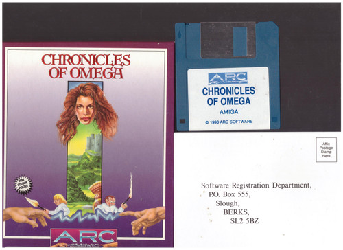 Chronicles Of Omega for Commodore Amiga from Arc Developments