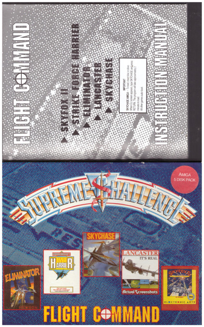 Supreme Challenge: Flight Command for Commodore Amiga from Beau-Jolly (FC1)