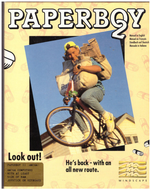 Paperboy 2 for Commodore Amiga from Mindscape