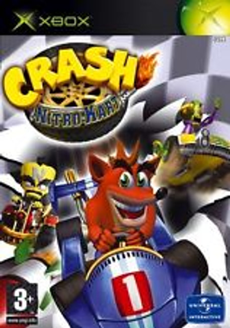 Crash Nitro Kart PAL for Microsoft Xbox from Vivendi Universal Interactive
