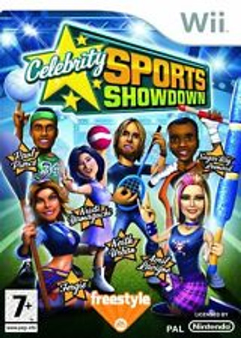 Celebrity Sports Showdown PAL for Nintendo Wii from Freestyle/EA