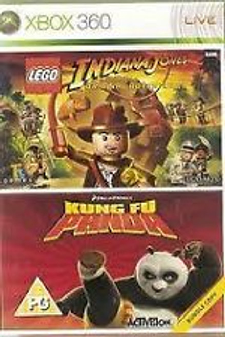 Lego Indiana Jones: The Original Adventures And Kung Fu Panda PAL for Xbox 360 from LucasArts/Activision