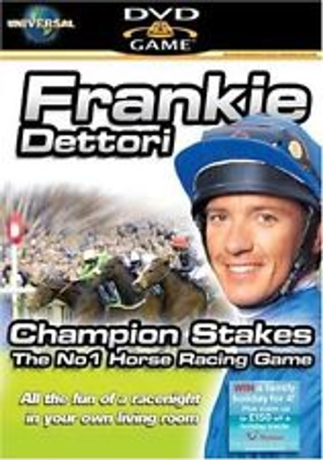 Frankie Dettori Champion Stakes Interactive DVD Game from Universal