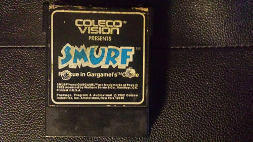 Smurf: Rescue In Gargamel's Castle for CBS ColecoVision from Coleco