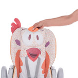 Chicco Polly 2 Start Highchair - Fancy Chicken seat