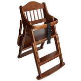 Safetots Folding Wooden High Chair