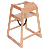 Safetots Simple Stackable High Chair back view