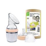 Haakaa Generation 3 Silicone Breast Pump 160ml & Bottle Set - nude