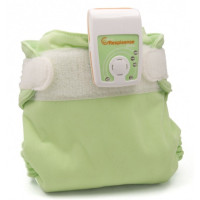 Respisense Ditto Breathing Monitor on nappy
