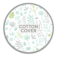 Dreamgenii Pregnancy Pillow Nature Green cotton