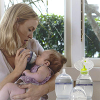 Haakaa Silicone Baby Bottle 160/250ml (Storage / Feeding) - example