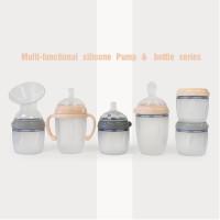 Haakaa Silicone Baby Bottle 160/250ml (Storage / Feeding)