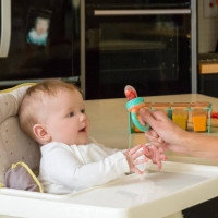 ClevaFeed™ with Extra Teat - Silicone Self Feeder 6M+ live