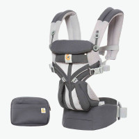 Ergobaby Omni 360 Cool Air Mesh From Newborn - Carbon Grey product