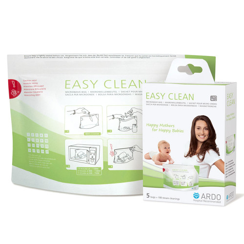 Ardo Easy Clean Microwave Bags (5 pcs)