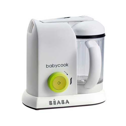Beaba Babycook Baby Food Maker/Steam Cooker/Blender Neon