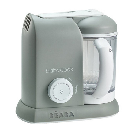 Beaba Babycook Baby Food Maker Steam Cooker Blender Grey