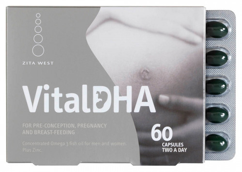 Zita West Vital Dha : Men & Women