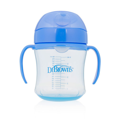 Dr Brown's Blue Training Cup Soft Spout 180Ml
