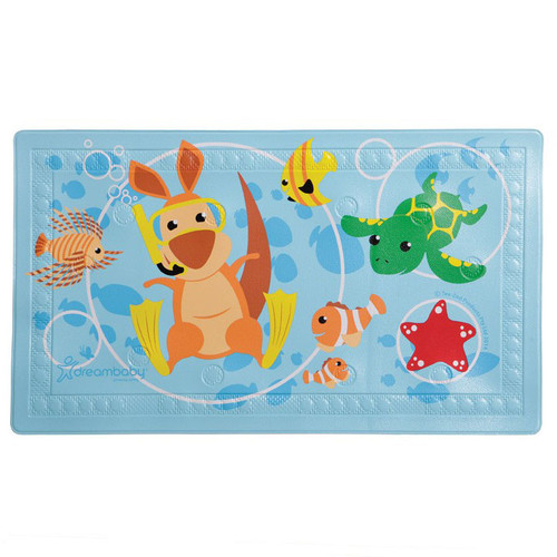 "Dreambaby® Watch-Your-Step® Anti-Slip Bath Mat With ""Too Hot"" Indicator"