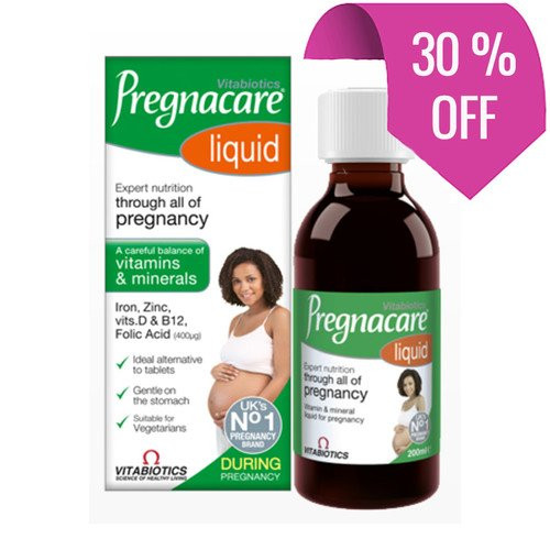 Pregnacare Liquid 200ml sale
