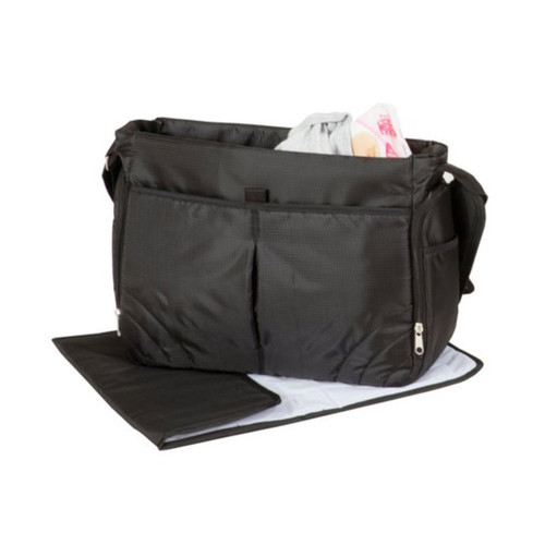 Babylo Changing Bag - Black opened