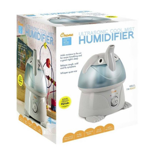 Crane 'Elliot The Elephant' Cool Mist Humidifier box