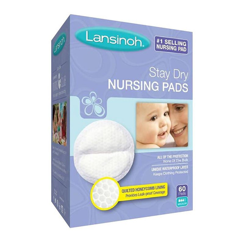 Lansinoh Disposable Nursing Pads 60Pk