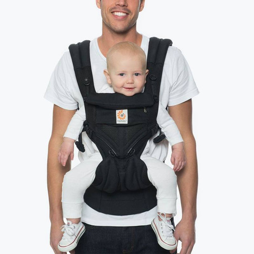 Ergobaby Omni 360 Cool Air Mesh From Newborn - Onyx Black