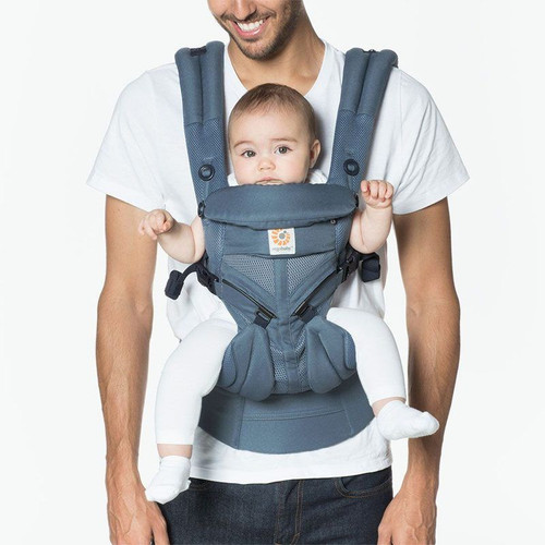 Ergobaby Omni 360 Cool Air Mesh From Newborn - Oxford Blue