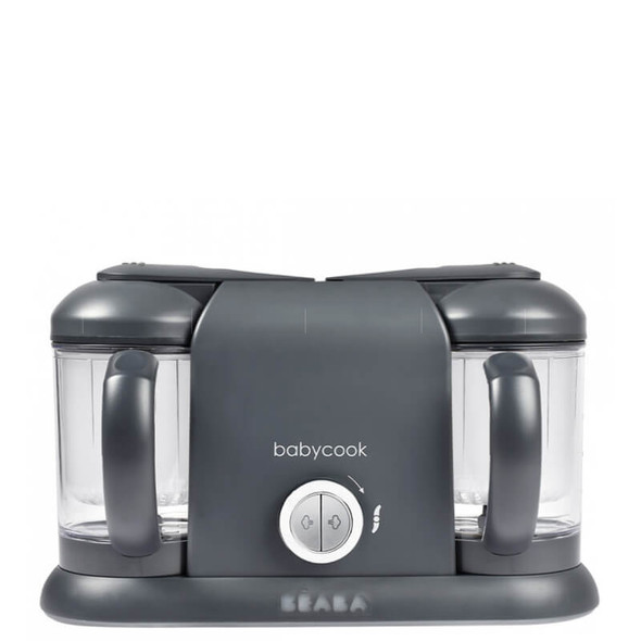 Beaba Babycook Duo Baby Food Steamer Blender - Dark Grey