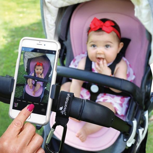 Dreambaby Stroller Buddy EZY-Fit Phone Holder Live