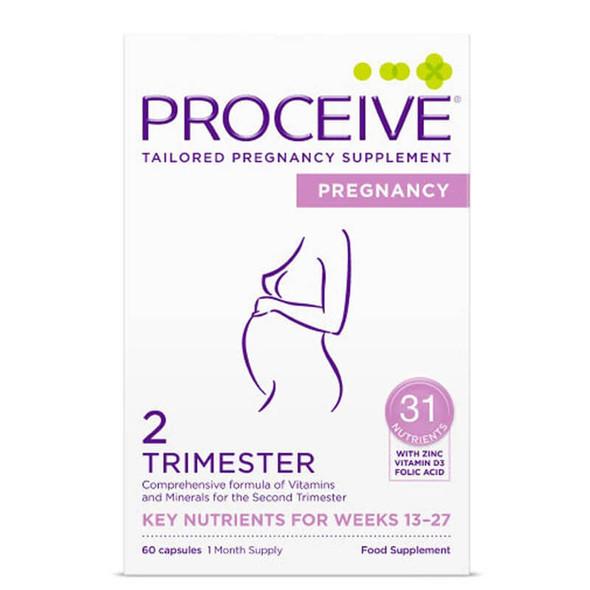 Proceive Pregnancy Trimester 2 - 60 Capsules