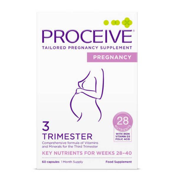 Proceive Pregnancy Trimester 3 - 60 Capsules