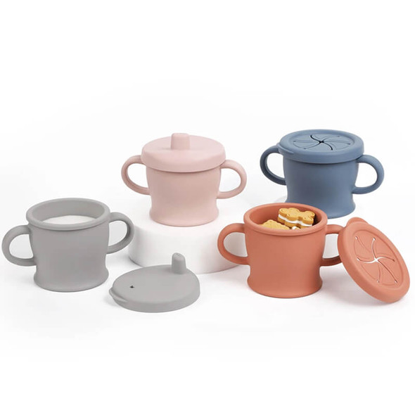 Haakaa Silicone Sip-N-Snack Cup