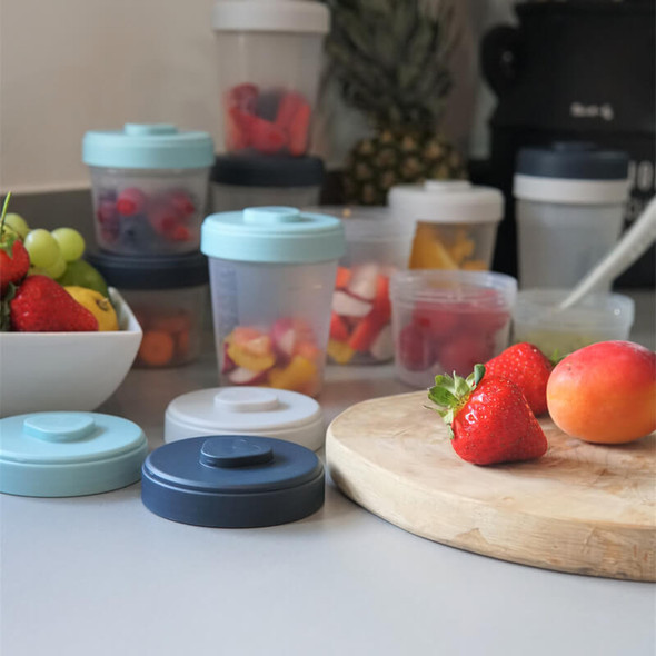Beaba Baby Food Storage Starter Pack - Storm Live style
