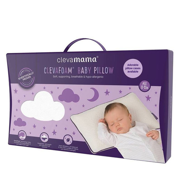 Clevamama Memory Foam Baby Pillow