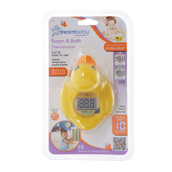 Dreambaby Room and Bath Thermometer Duck  pack