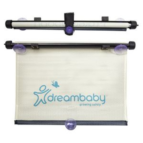 Dreambaby Car Window Roller Blind Adjustable- 2Pk